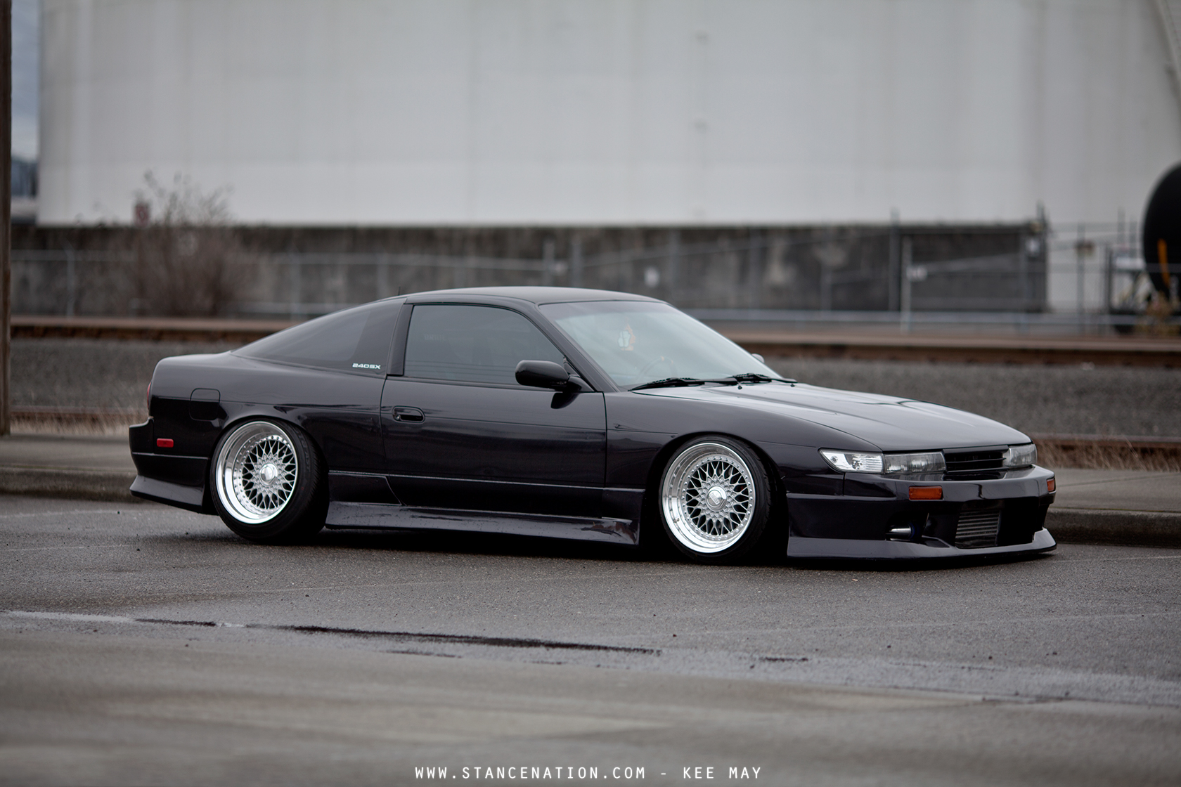 S13 Hatch With Silvia Front End Conversion 240sx