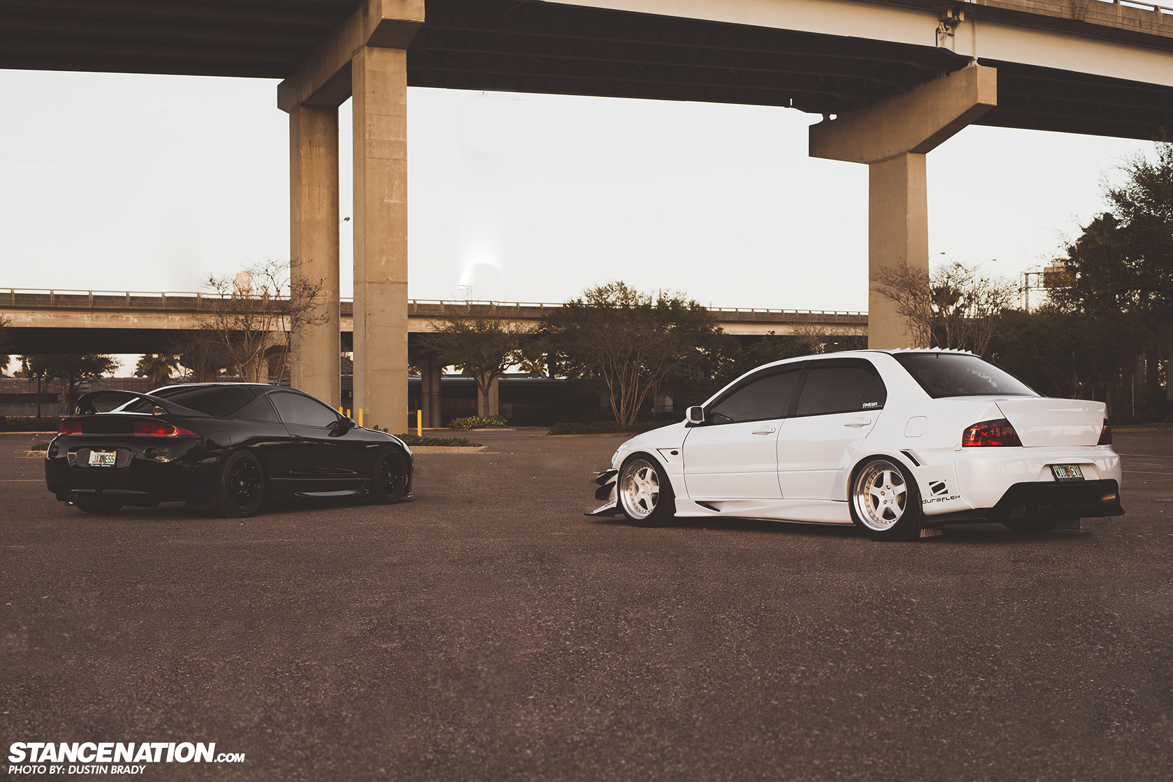 His Hers Justin Jaxs Mean Evo Eclipse Stancenation 2g Headlight Wiring Harness Over The Years It Has Been No Secret That Mitsubishi Dsm Is One Of Most Popular Platforms And Its Not Hard To See Why