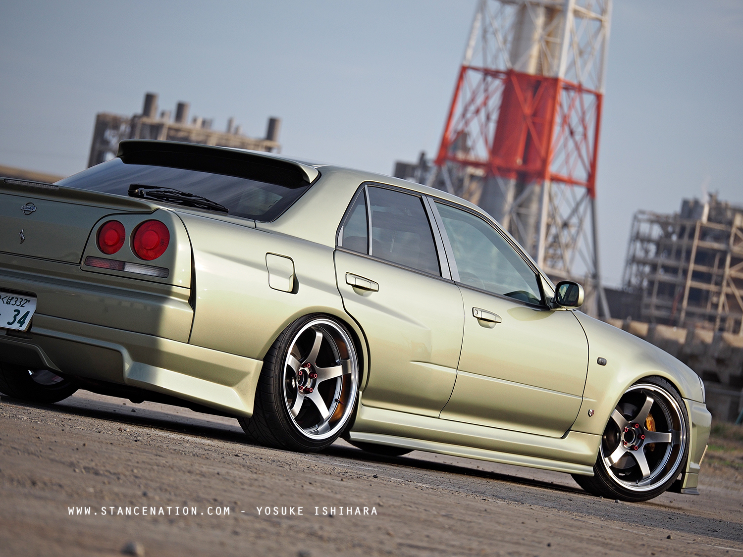 Just Right Junya Nakata S Clean Nissan Skyline R34 Gt T Stancenation Form Function