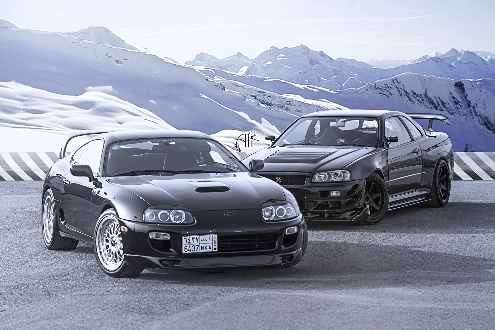 R34 GTR or Supra? | StanceNation™ // Form > Function
