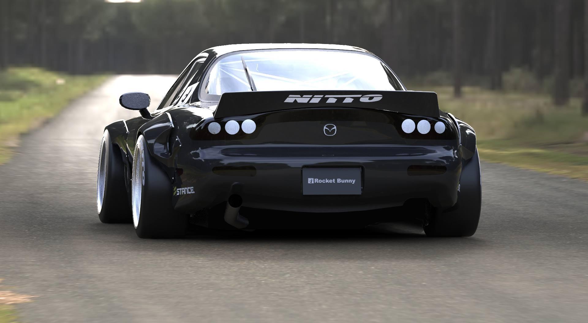 Rocket Bunny Rx 7 Built Rx7club Com Mazda Rx7 Forum
