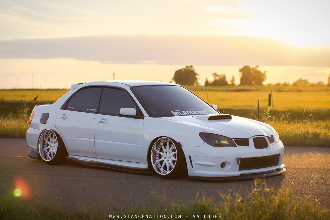 Drive Other Car Coverage >> Arctic Beast // Damien Grant's Bagged STi. | StanceNation™ // Form > Function