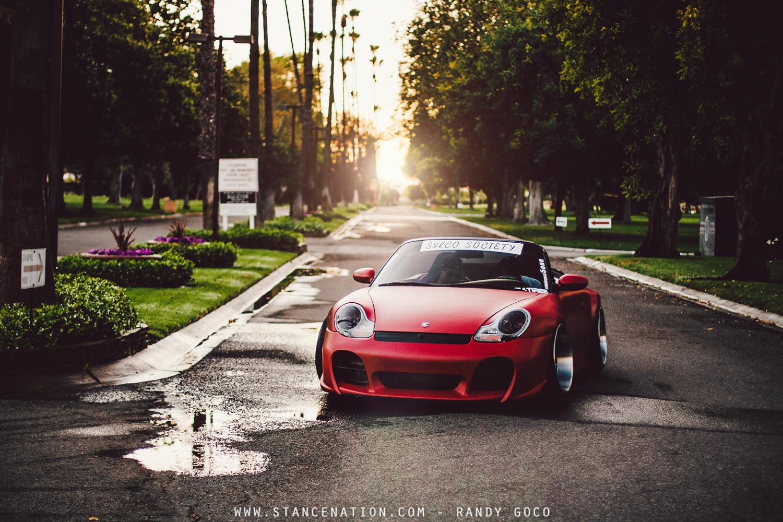 Wide German Beauty Lino S Steebspecd Porsche 911
