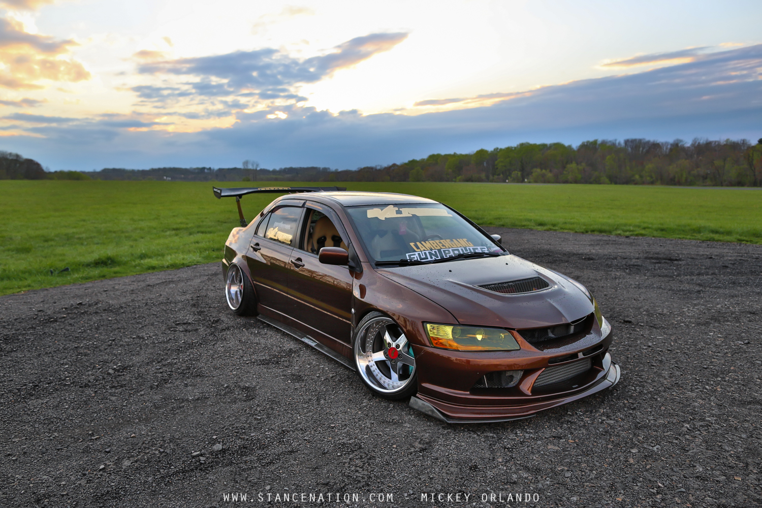 Build Your Mitsubishi >> Complete Package // Mickey's 500+ HP Mitsubishi EVO. | StanceNation™ // Form > Function