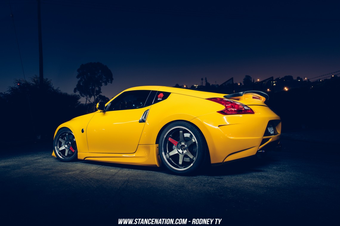 Supercharged Lightning Andrew Linga S Amuse 370z