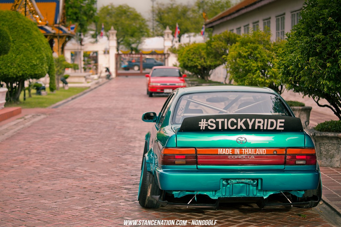 Sticky Ride // Nukung's Unique Toyota Corolla ...