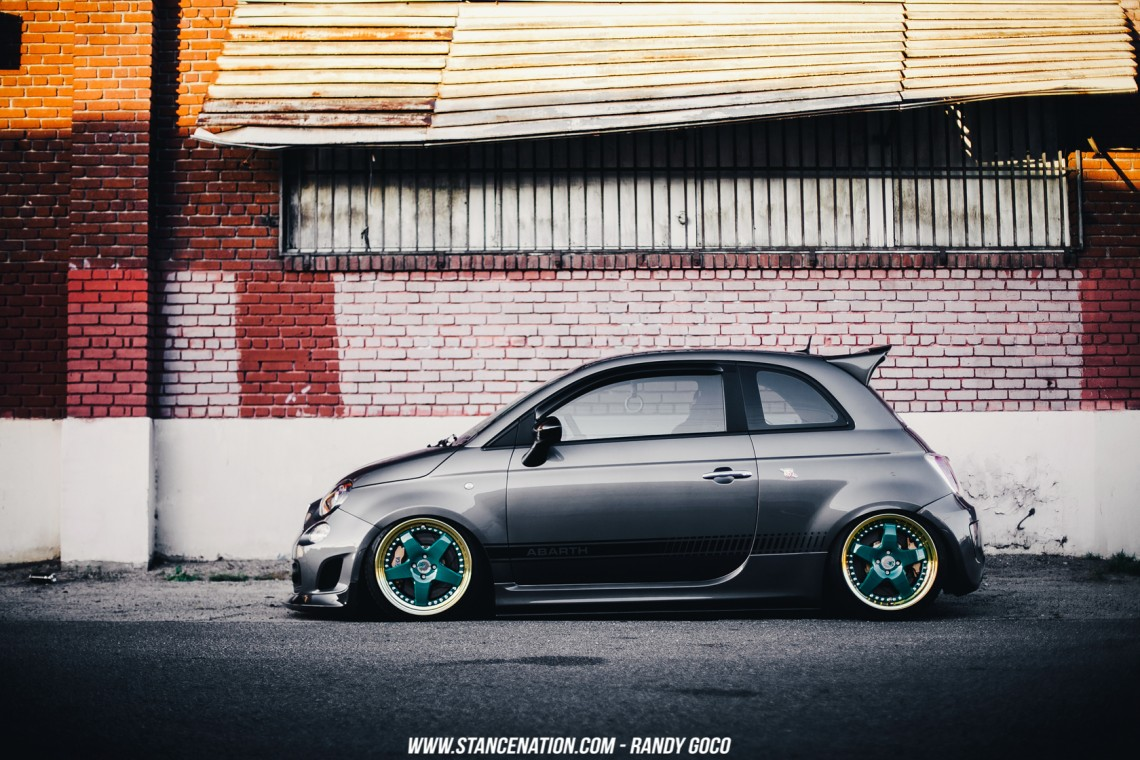 Stanced Fiat 500 Abarth-10