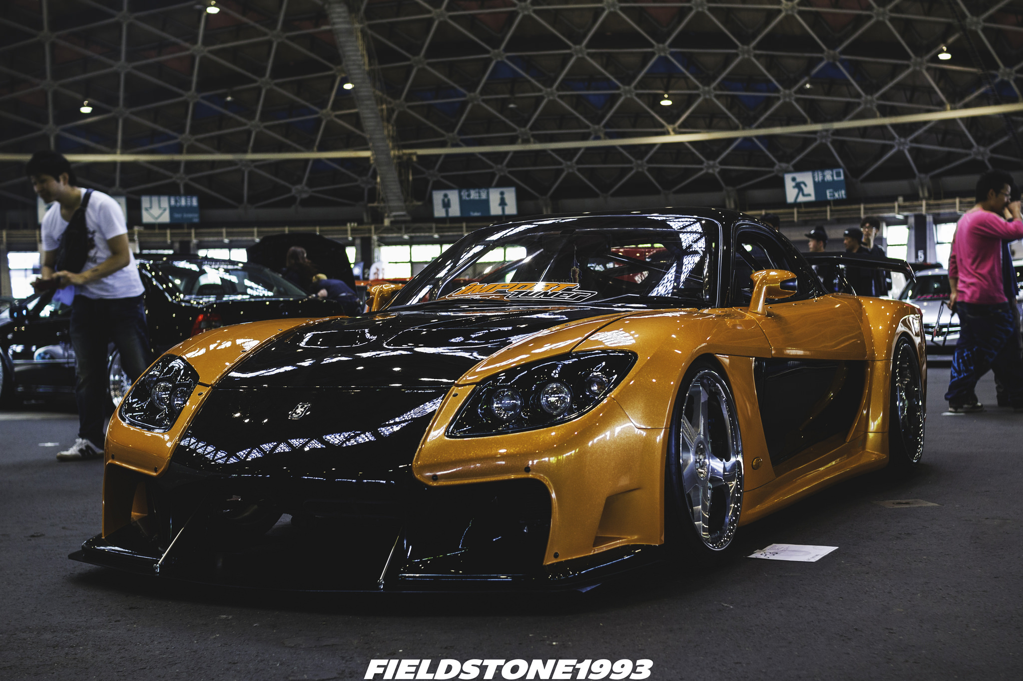the incredible veilside rx7 stancenation form function
