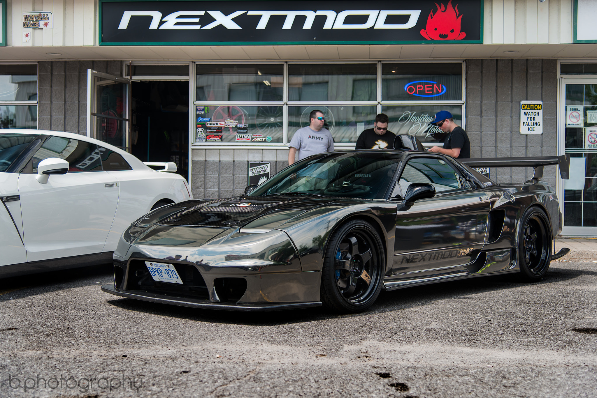 black chrome sorcery kitted acura nsx stancenation