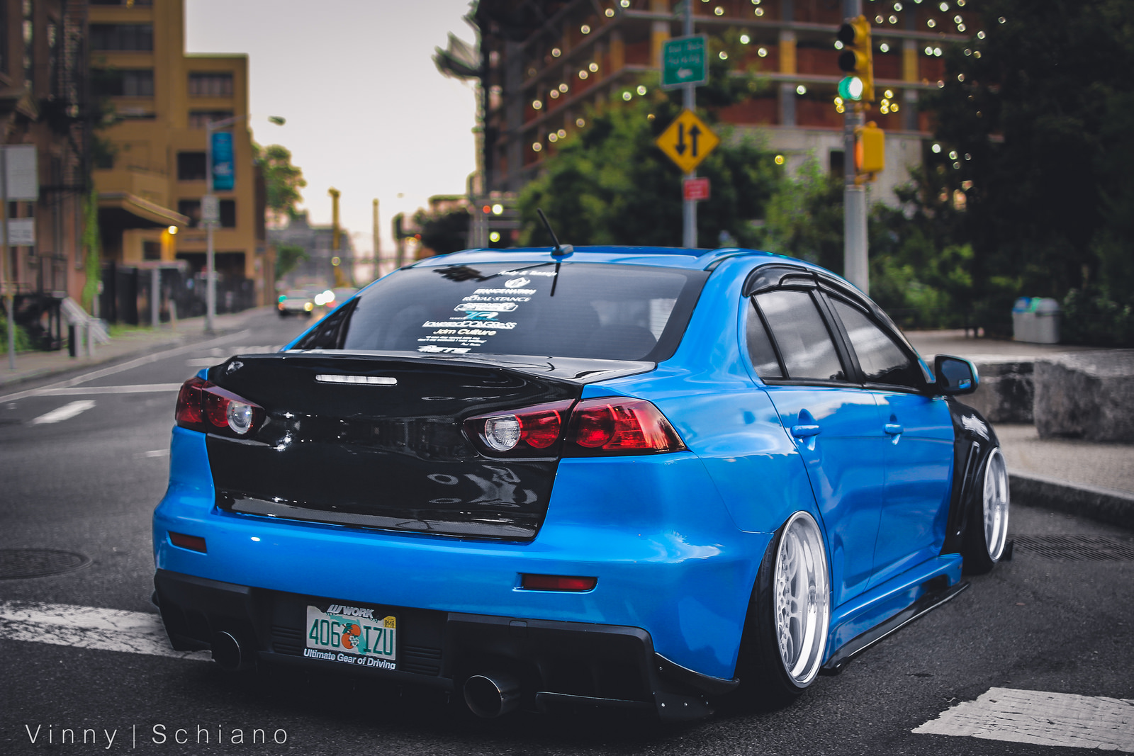 Slammed EVO X Anyone? | StanceNation™ // Form > Function