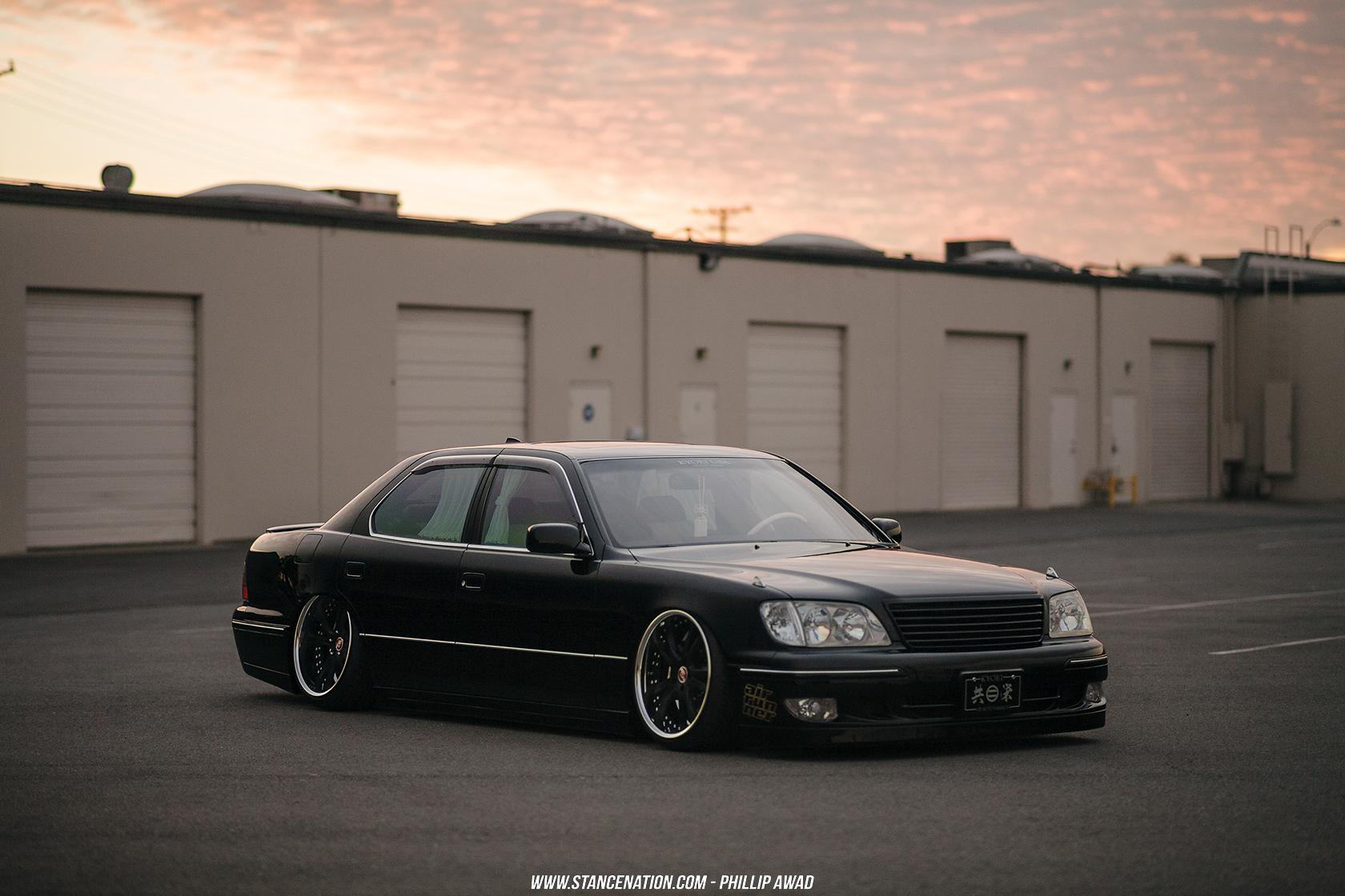 Kyoei Usa Jin S Pristine Lexus Ls400 Stancenation