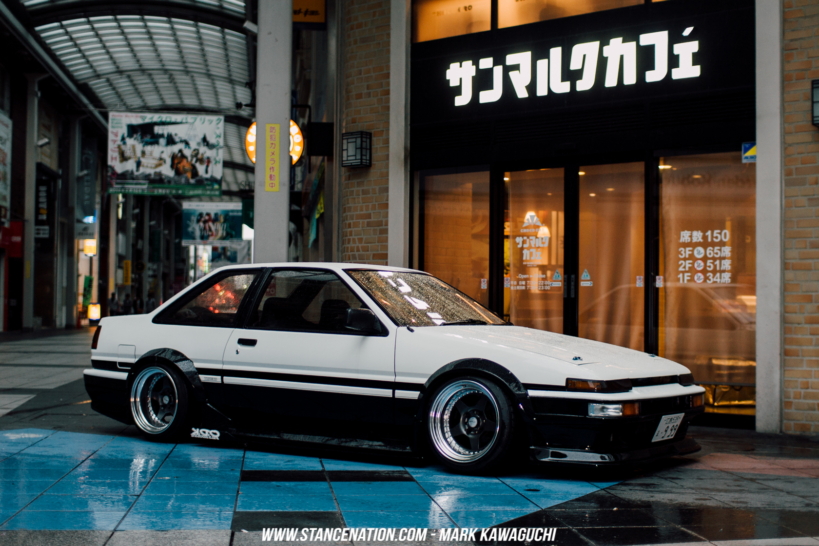 Incroyable Clean Hachiroku Stance 3