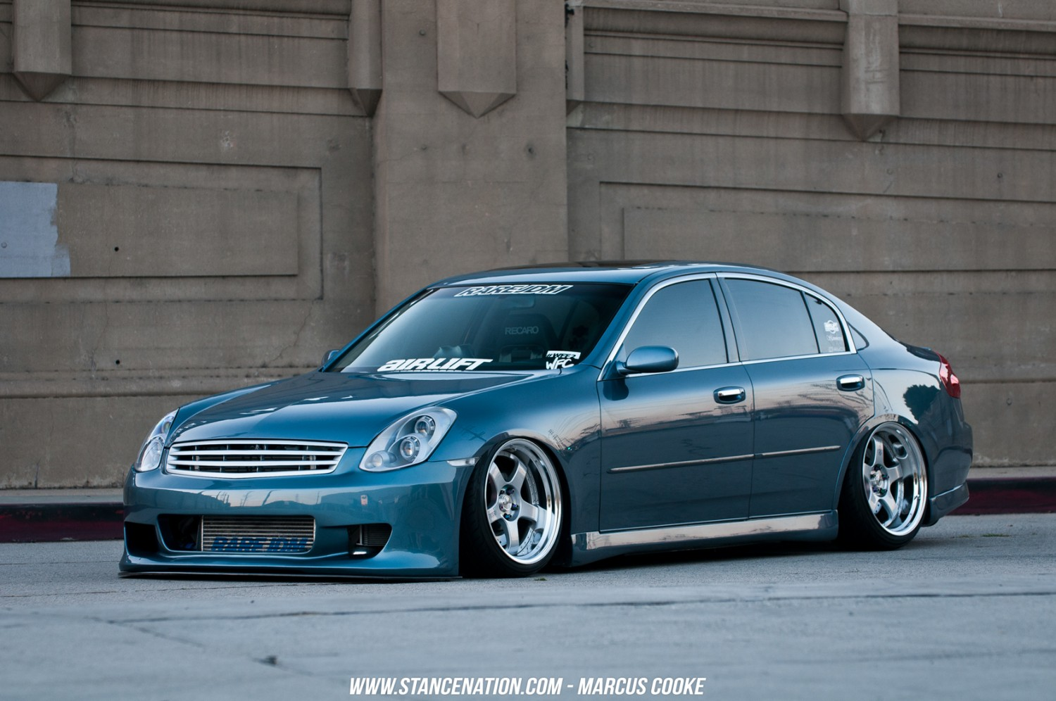 the act of being humble marcus cooke 39 s g35 sedan stancenation form function. Black Bedroom Furniture Sets. Home Design Ideas