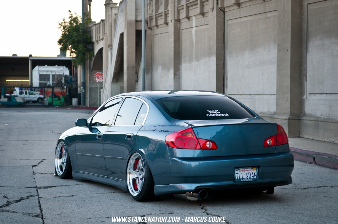 The Act Of Being Humble Marcus Cooke S G35 Sedan