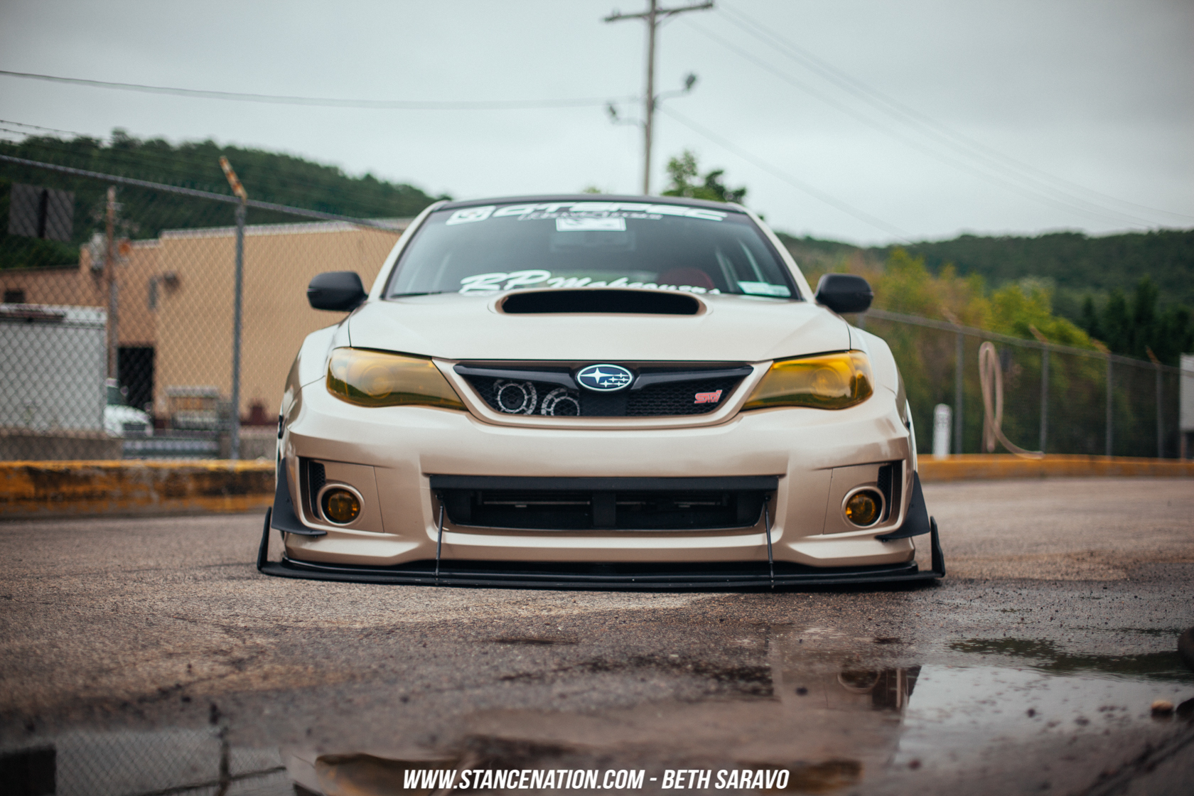 Grounded Ian Galvez s STi Hatch