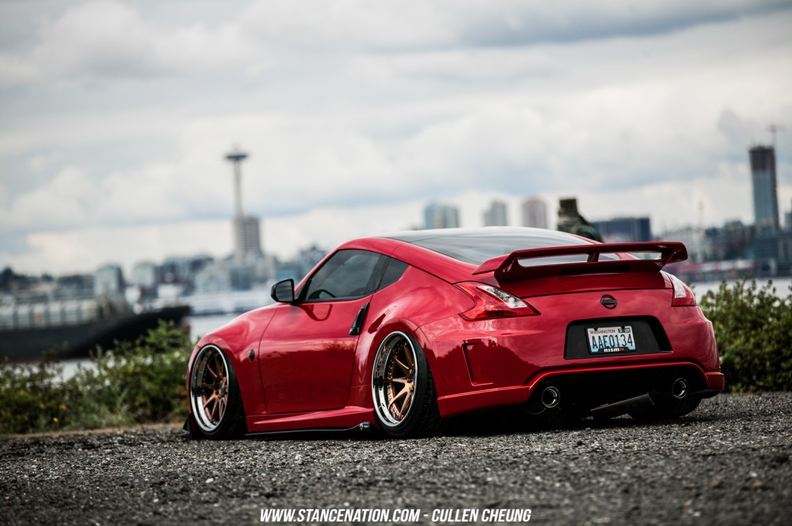 stanced nissan 350z wallpaper - photo #27