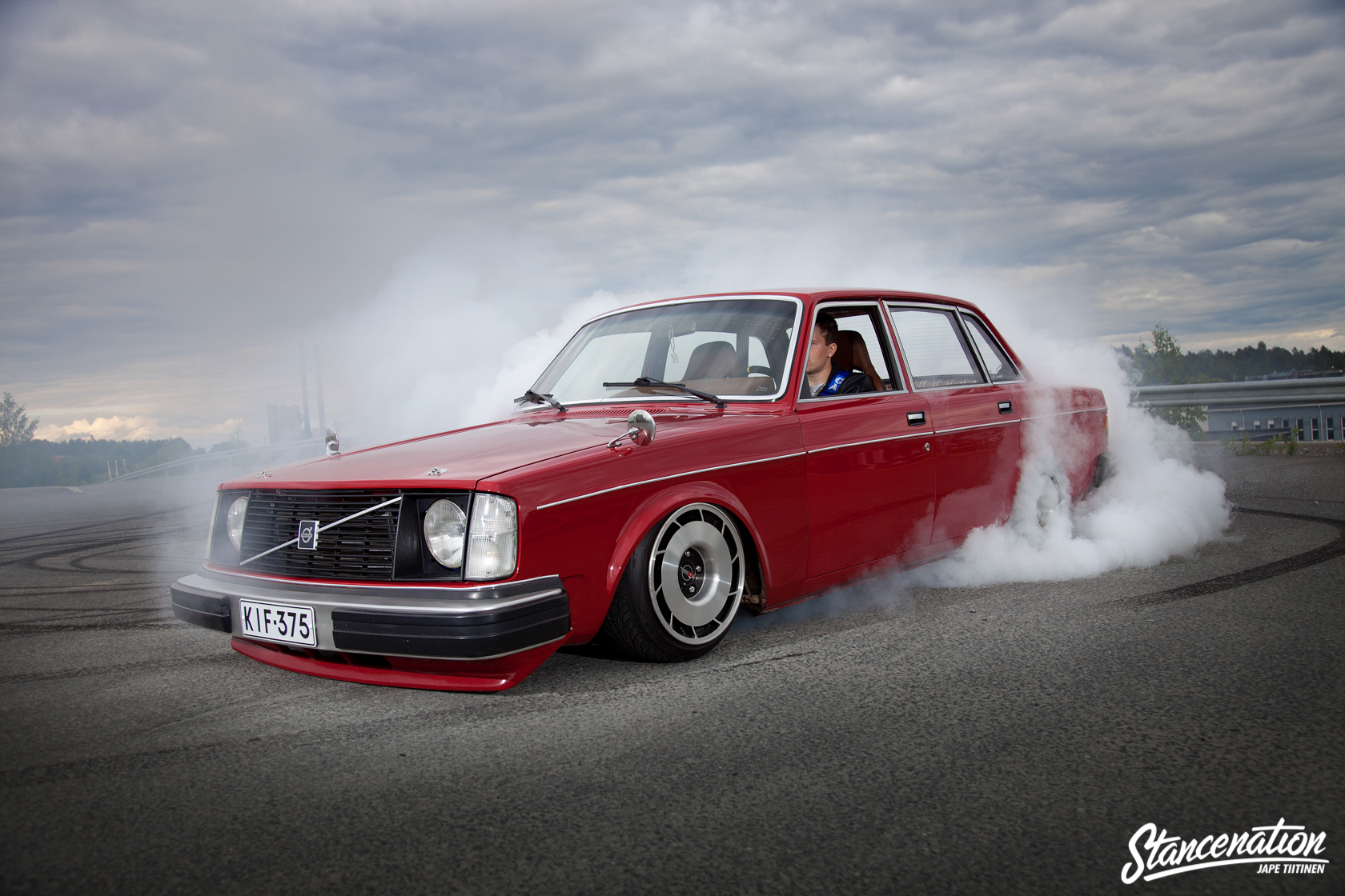 Don't Judge a Book By Its Cover // Eemeli's 2JZ-Swapped Volvo 244 | StanceNation™ // Form > Function