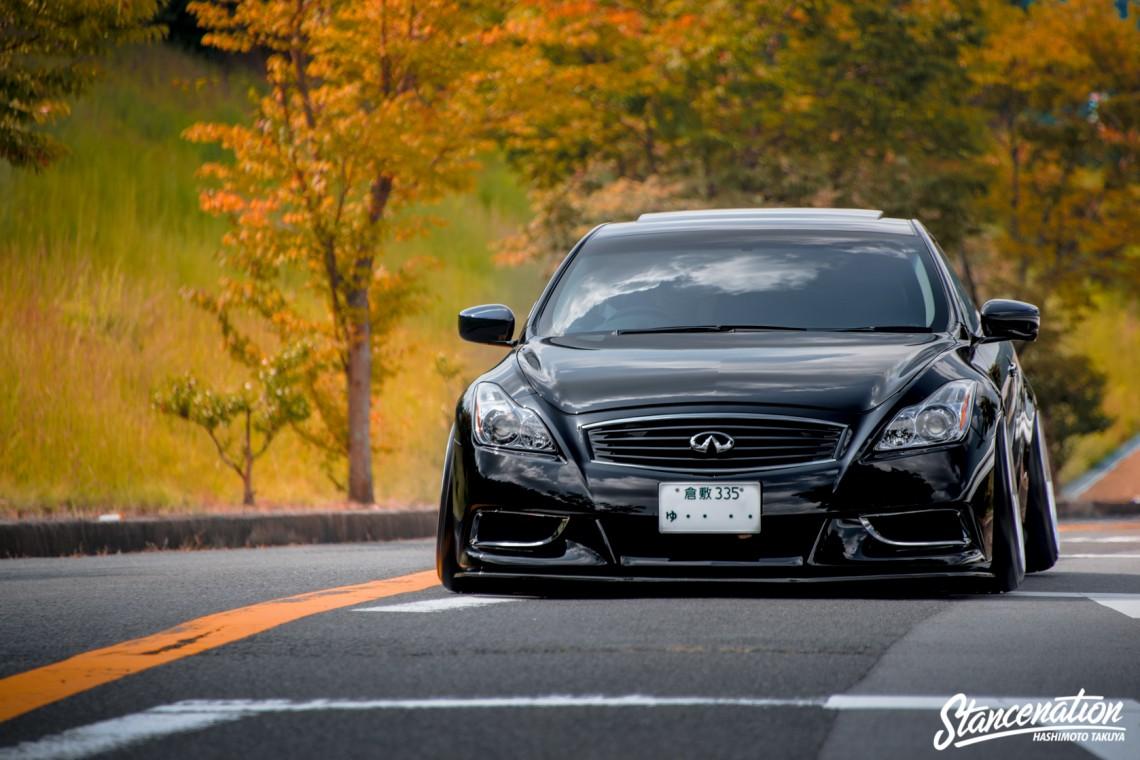 USDM Style! // Hiro's Clean Nissan Skyline V36 ...