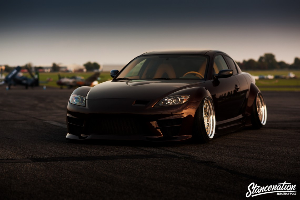 Stay out of Harm's Way // Vanhecke's Mazda RX8 ...