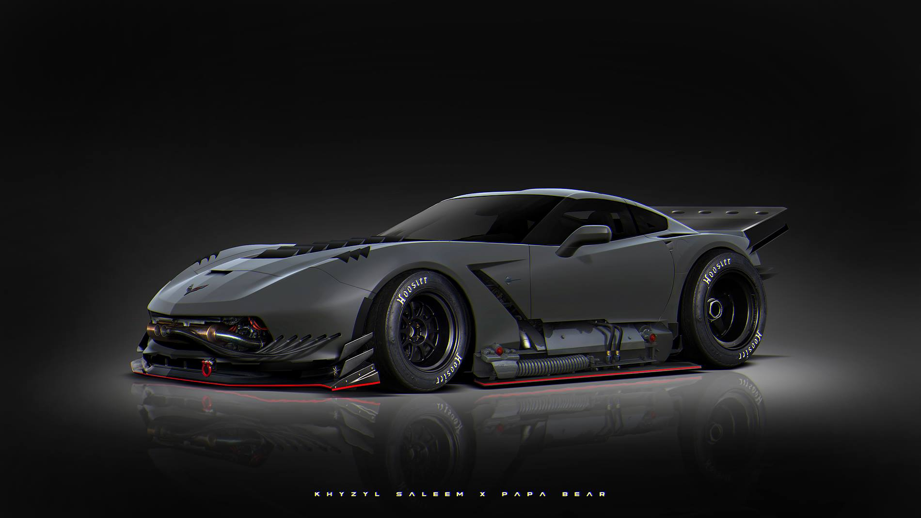 Crazy C7 Corvette! | StanceNation™ // Form > Function