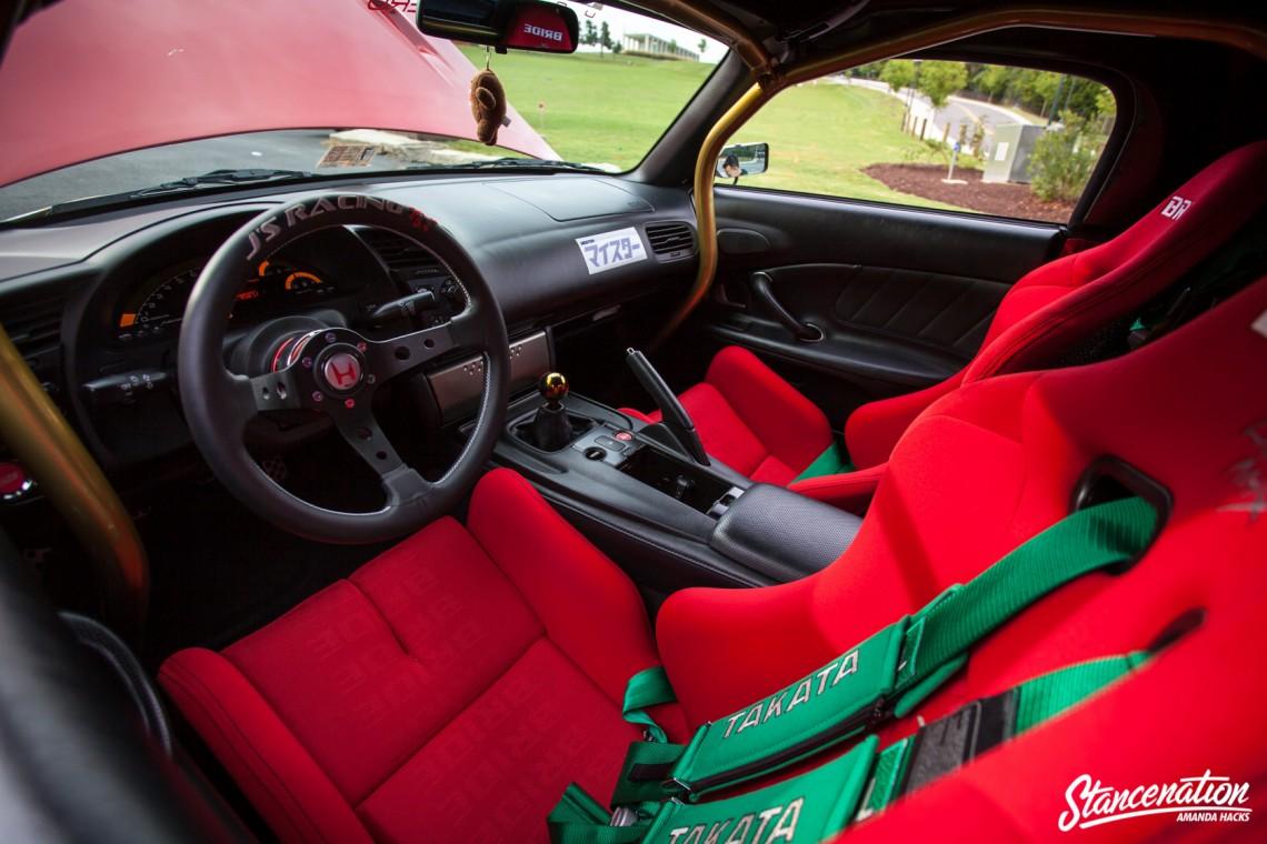 Aggressive Fitment Honda S2000-12