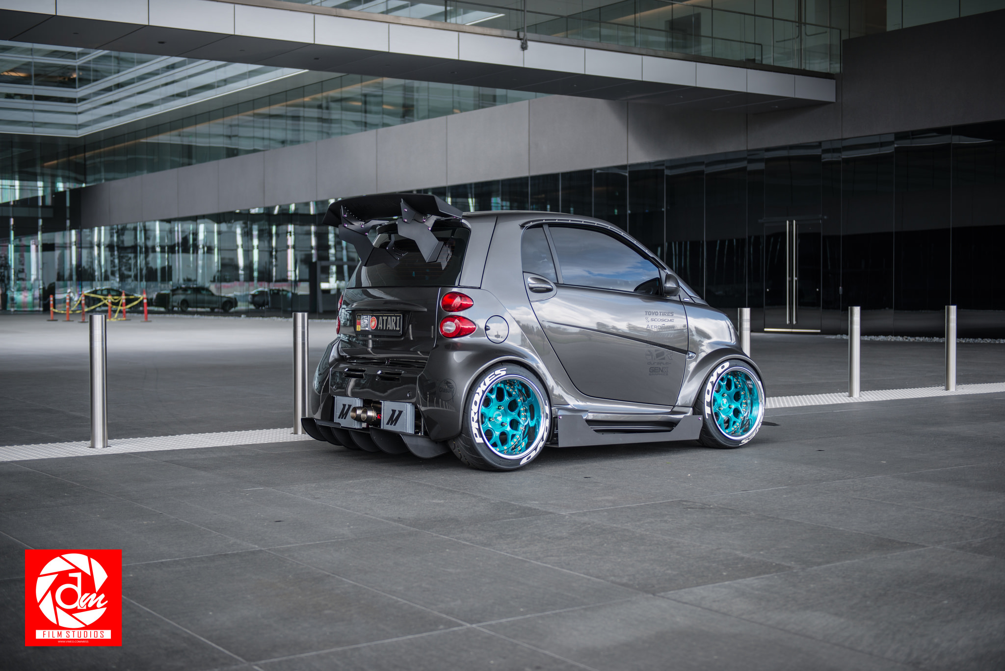 Ever Seen A Smart Car Like This Before Stancenation