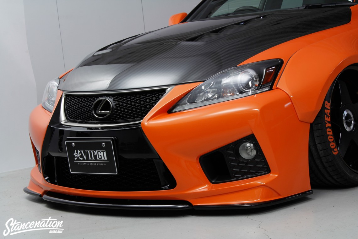 Aimgain Widebody Lexus ISF-17