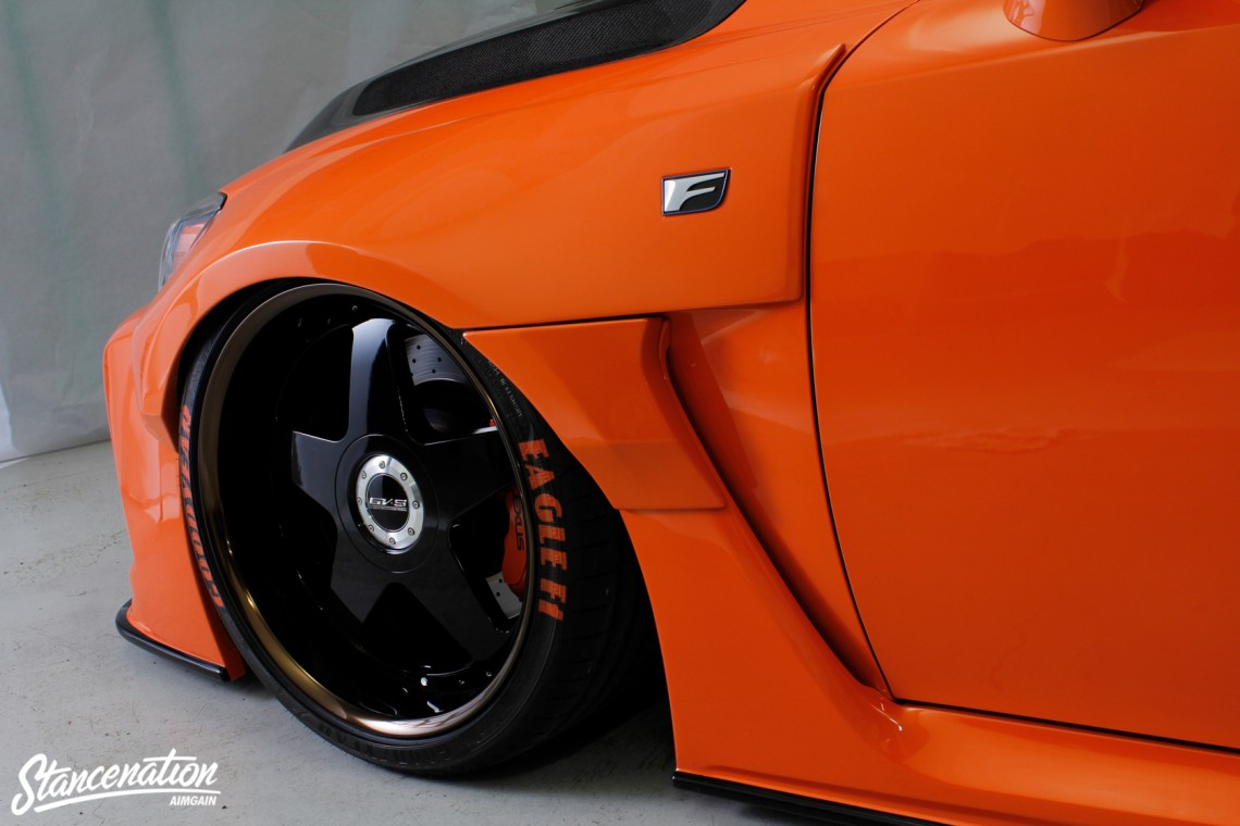 Aimgain Widebody Lexus ISF-20