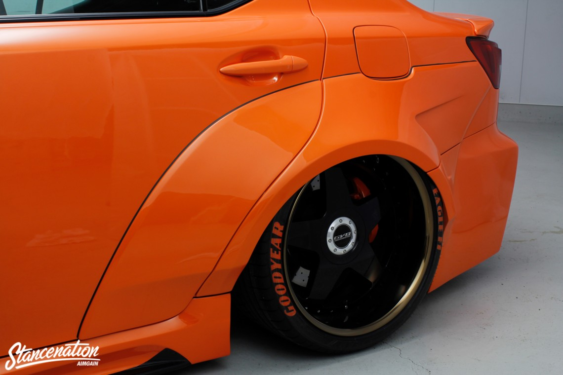 Aimgain Widebody Lexus ISF-22