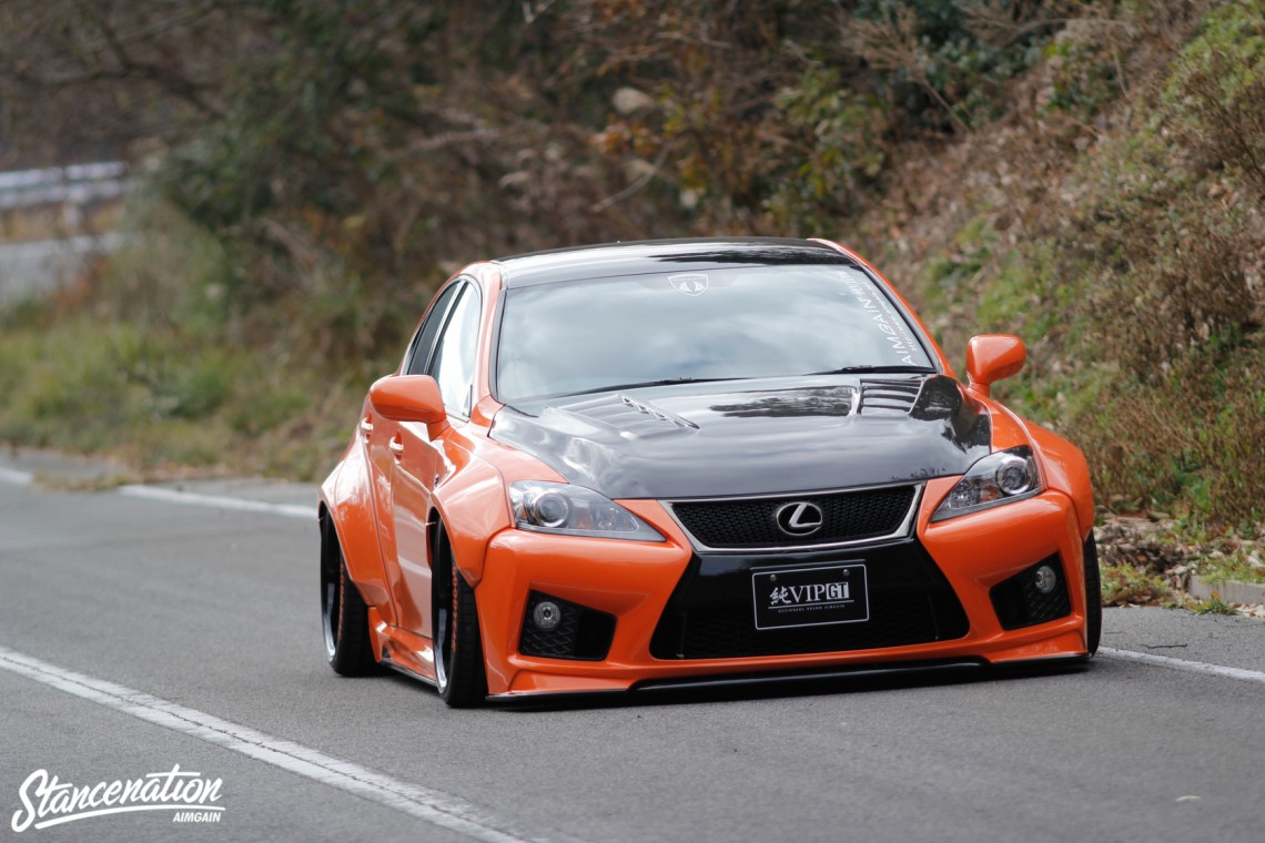 Aimgain Widebody Lexus ISF-28