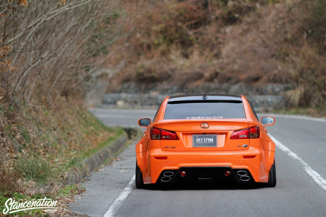 Aimgain Widebody Lexus ISF-31
