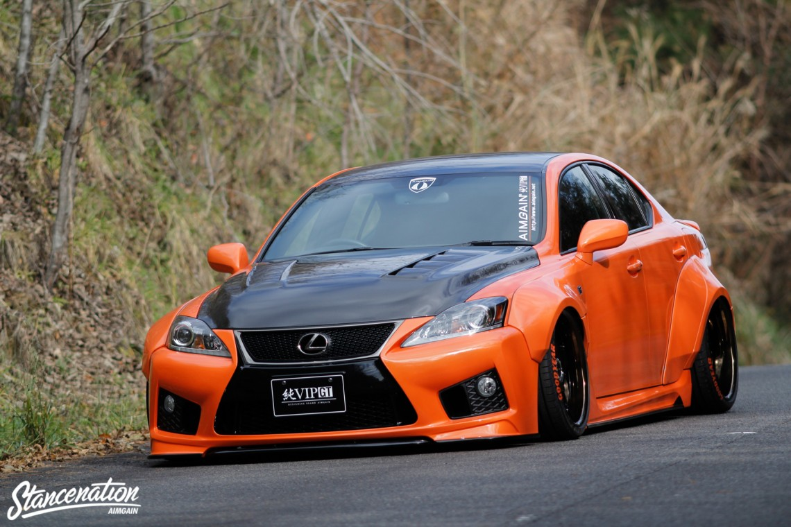 Aimgain Widebody Lexus ISF-34