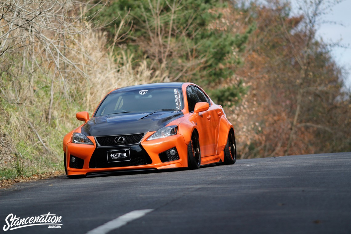 Aimgain Widebody Lexus ISF-36