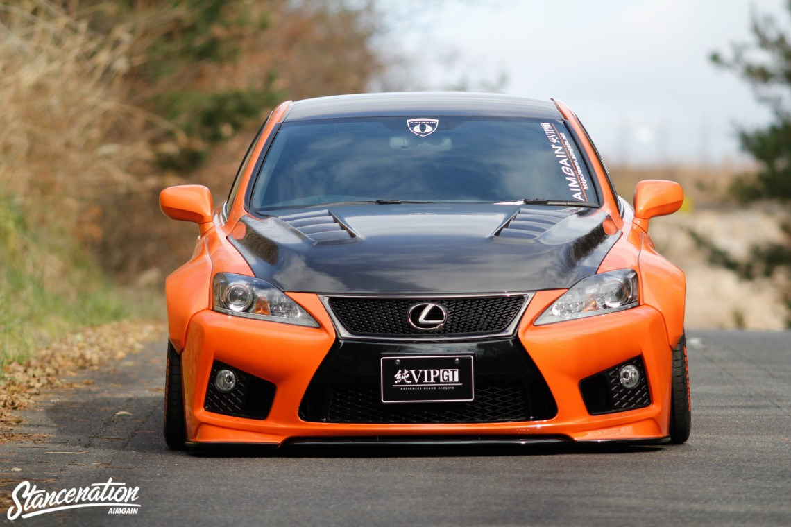 Aimgain Widebody Lexus ISF-38