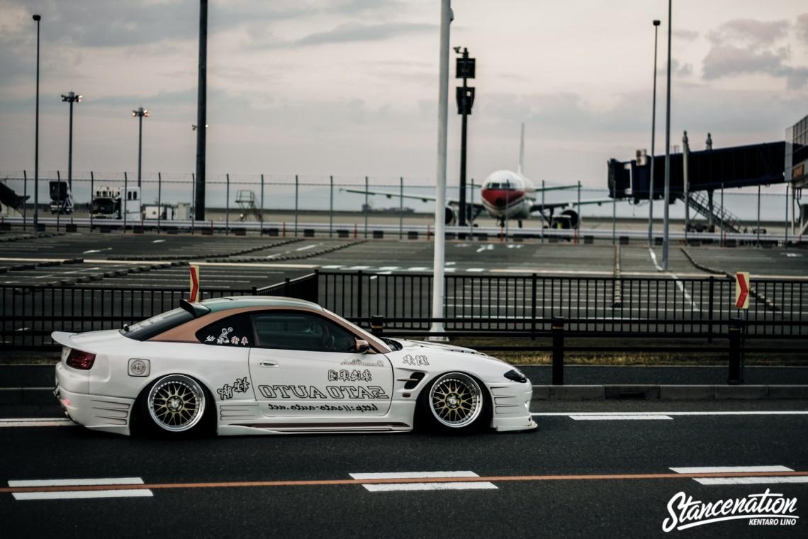 Sato Auto // Keita Kikuchi's Aggressive Nissan Silvia S15 ...