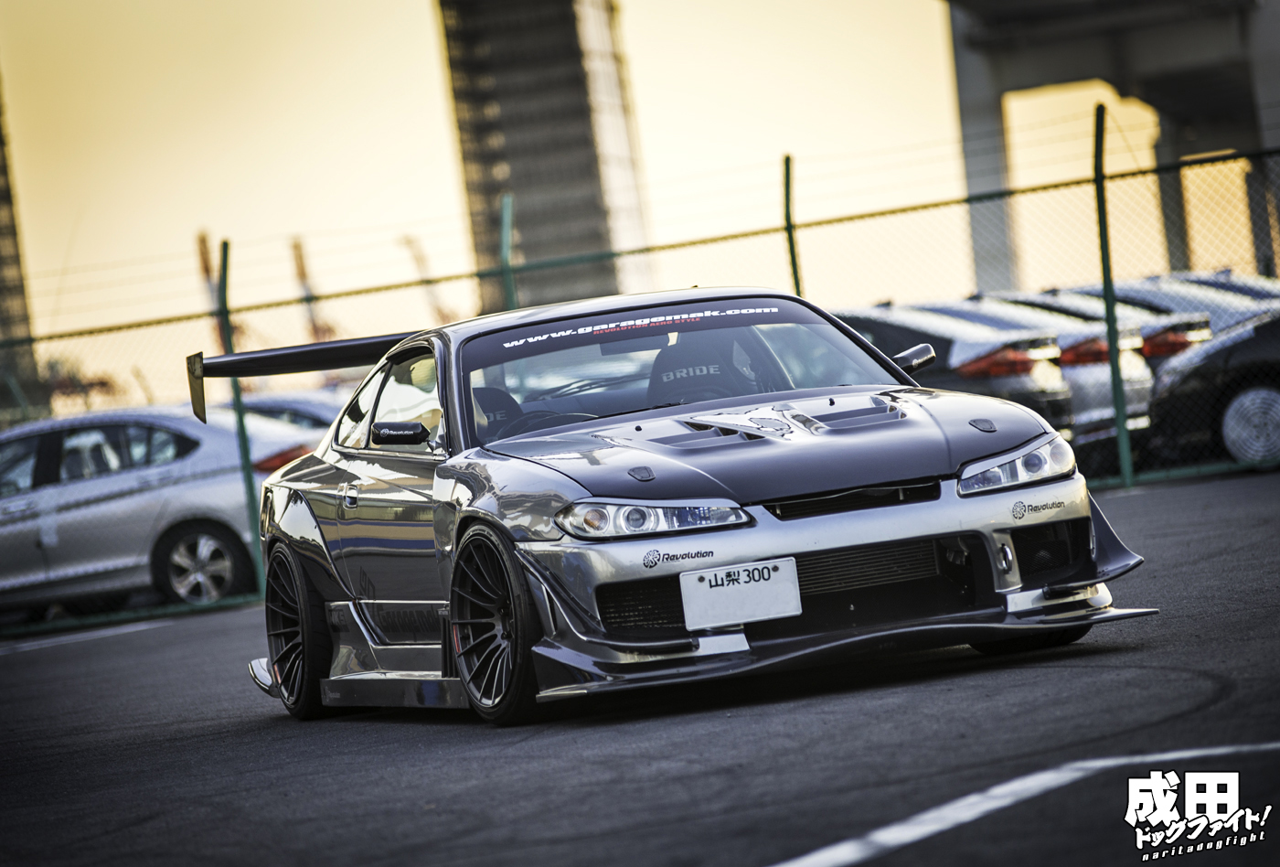 the stunning garage mak nissan s15 stancenation form function. Black Bedroom Furniture Sets. Home Design Ideas