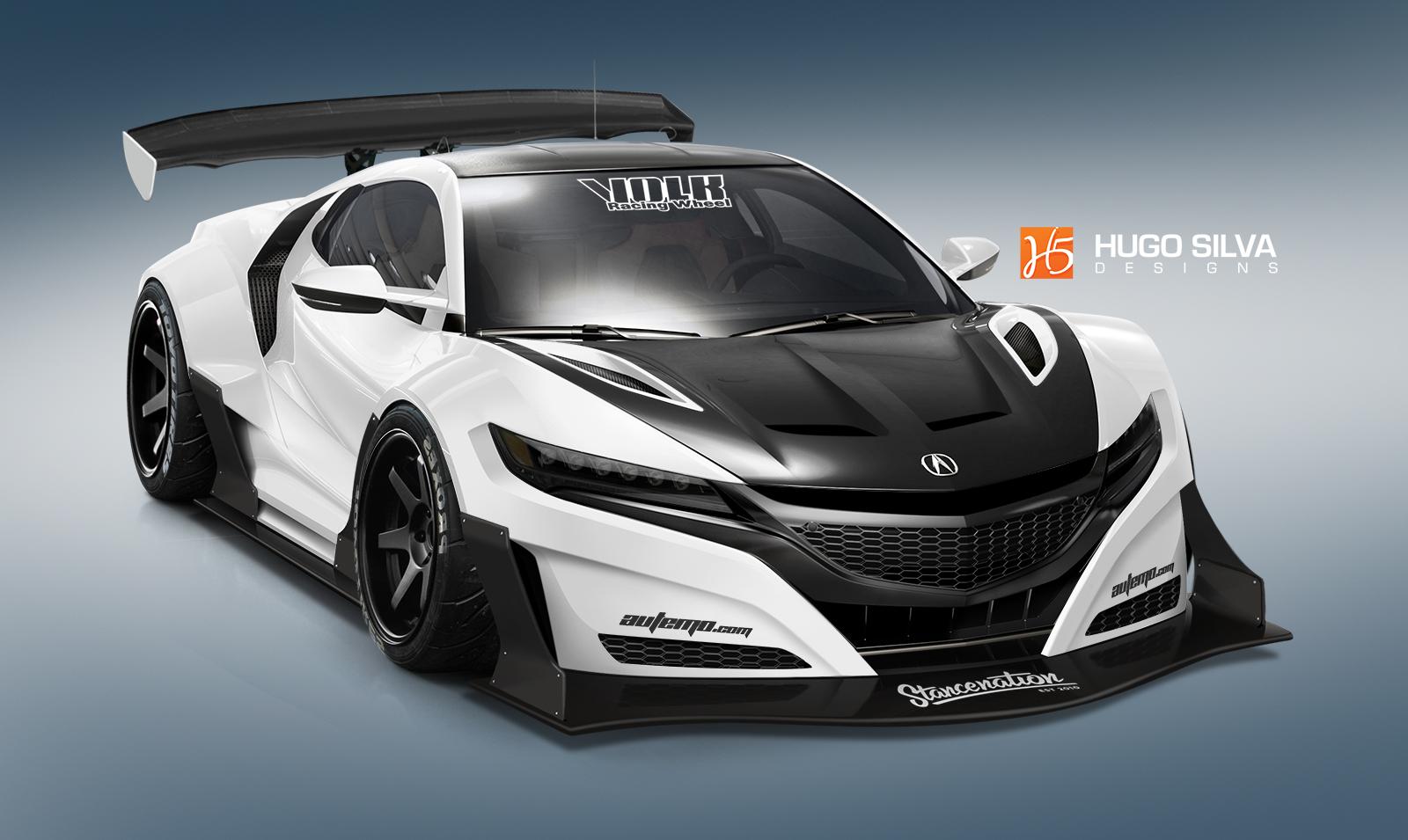 Custom 2016 Acura NSX. | StanceNation™ // Form > Function