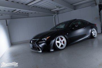 Aimgain Widebody Lexus ISF-7