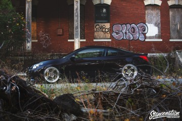 Slammed Nissan Altima Coupe -9