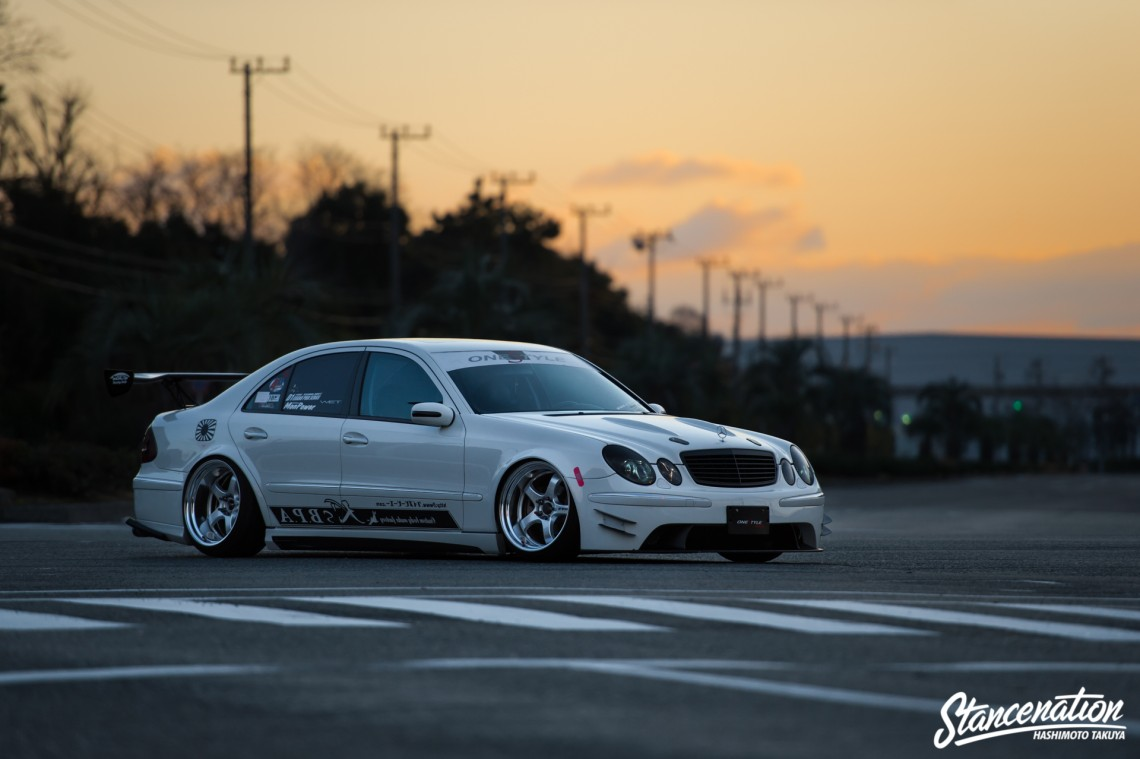 Style Is Everything Toshiki Omura S W211 Mercedes Benz