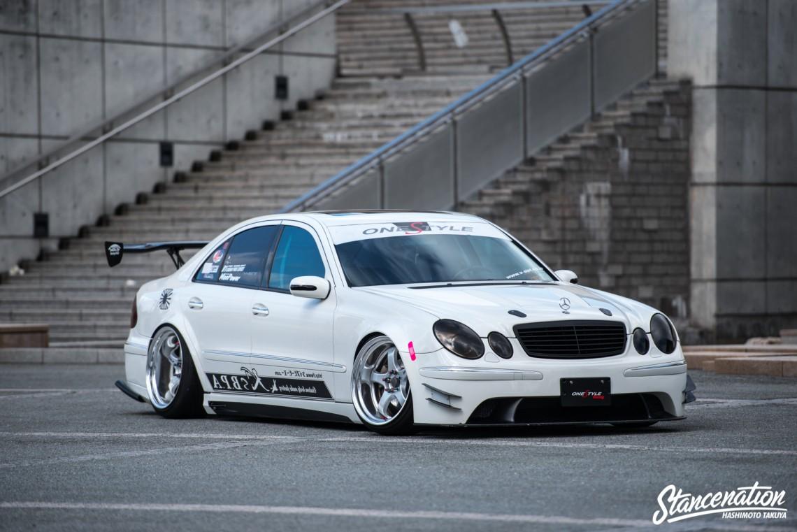 Aggressive Mercedes Benz E Class-23