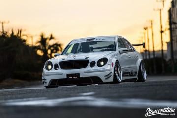 Aggressive Mercedes Benz E Class-5
