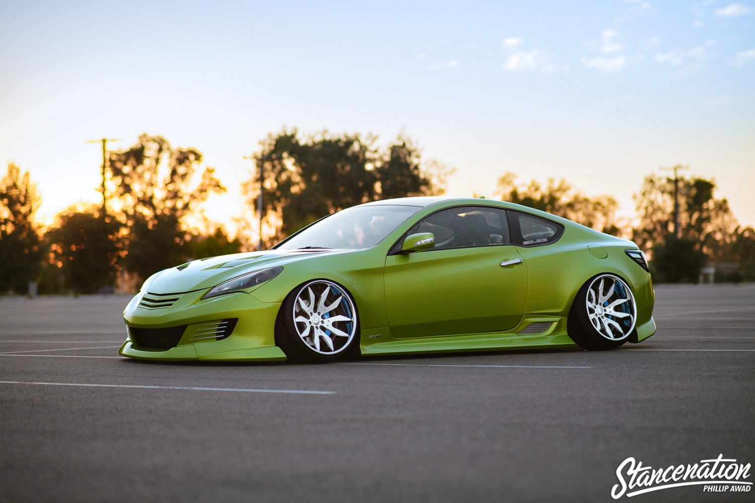 All Out // Jonny's Hyundai Genesis Coupe. | StanceNation ...