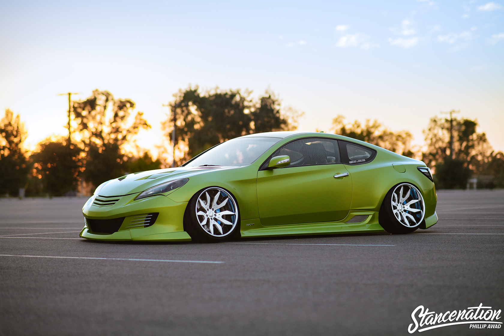 all out jonny 39 s hyundai genesis coupe stancenation. Black Bedroom Furniture Sets. Home Design Ideas
