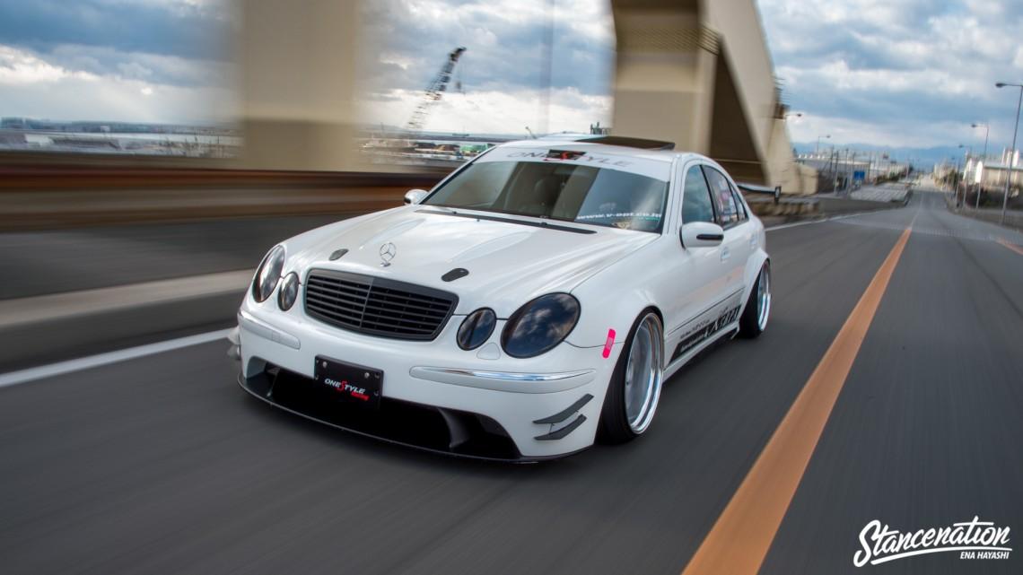 Mean Mercedes Benz E Class-13