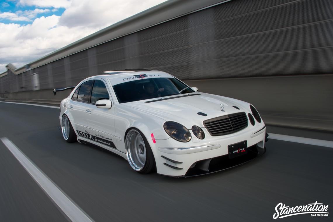 Mean Mercedes Benz E Class-9