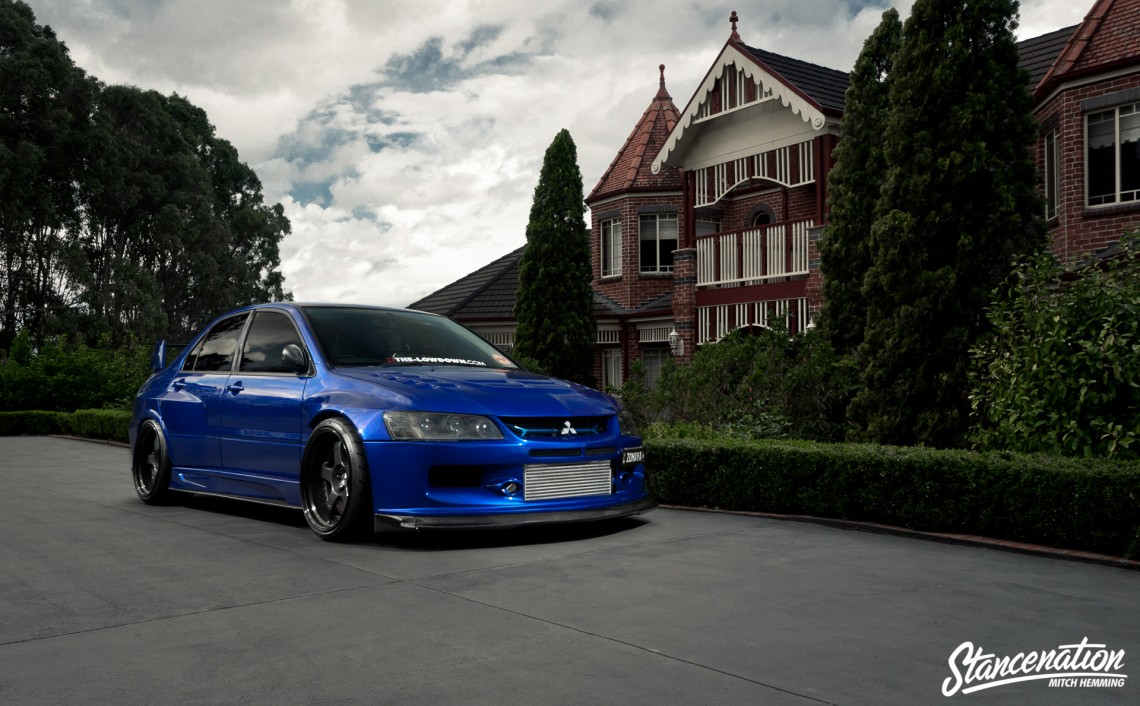The Lowdown Mitsubishi EVO IX-1