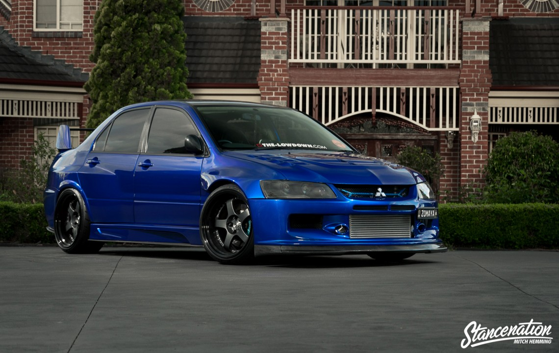 epitome of modification michael zomaya 39 s widebody evo. Black Bedroom Furniture Sets. Home Design Ideas