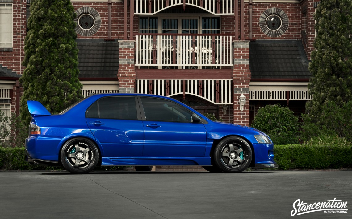 The Lowdown Mitsubishi EVO IX-3
