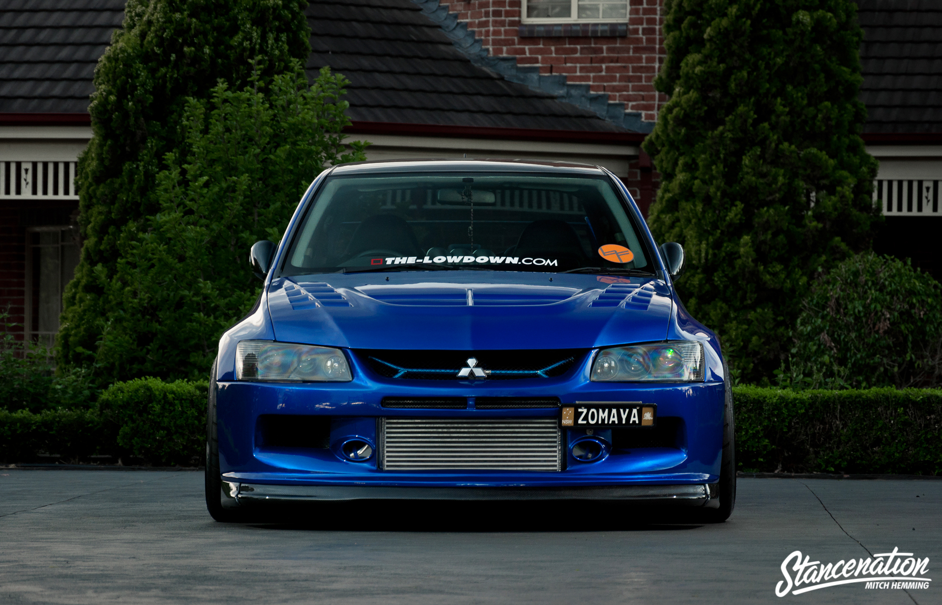 Epitome Of Modification Michael Zomaya S Widebody Evo Stancenation Form Gt Function
